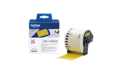 Brother DK-44605 Continuous Paper Label Roll with Removable Adhesive