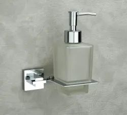 Crimson Wall Mount Stainless Steel Liquid Holder, For Bathroom, Packaging Type: Polythene And Box