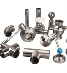 Stainless Steel Pipe Fittings, Size: 3 inch