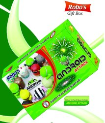Robo Android Fireworks Gift Box