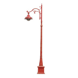 Reddish Decorative Lamp Post