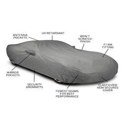 Car Body Cover with Mirror Anteena Pocket