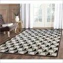 Vama Rectangular Cotton Carpet, Size: 5.5 X 4.5 Feet