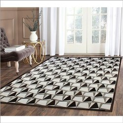 Rectangular Printed Cotton Carpet, for Home
