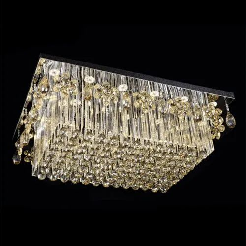 Led Crystal Fancy Ceiling Light Ip Rating Ip55 Rs 15000 Piece Id 21019037797