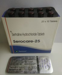 Sertraline Hydrochloride 25 mg Tablets