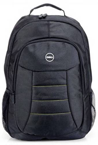 2db2013e3f25 Polyester   Nylon Black Dell Office Laptop Backpack