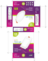 Led Bulb Packing Box, Size (l*b*h): 3w/5w/7w/9w