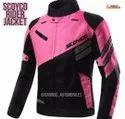 Women Round Gabroo Automobiles Scoyco Female Riding Jacket, Size: Medium