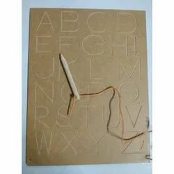 Mini Carving Alphabet Uppercase