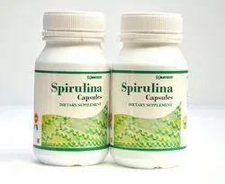 Protein Rich Spirulina Capsules
