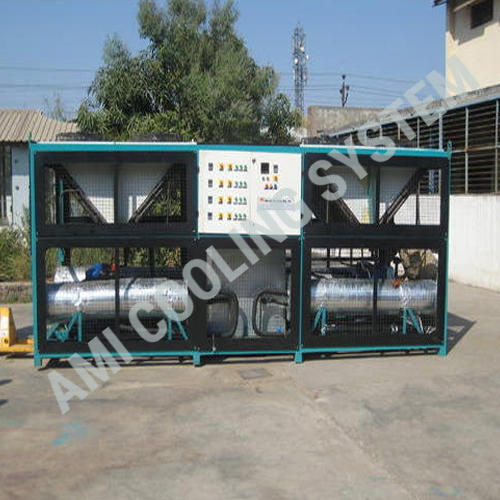 Three Phase Air Cooled Screw Chiller, Temperature : +30 degree Celsius to -10 degree Celsius