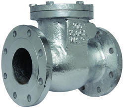 Flanged End CI Check Valve