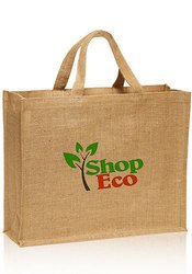 Brown Jute Promotional Bag, Capacity: 5kg