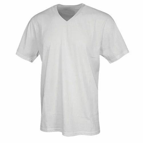 2be45f01bcf Medium And Large Cotton Mens V Neck T Shirt