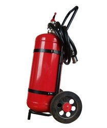 Gas A B C Dry Powder Type Trolley Mounted Fire Extinguishers