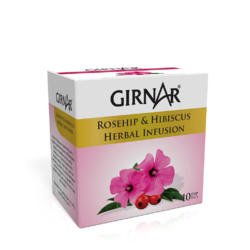 Girnar Tea Girnar Rosehip & Hibiscus Herbal Infusion Tea