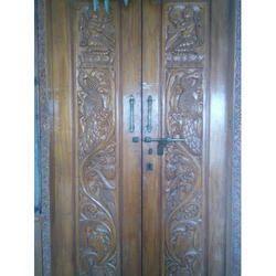 Center Opening Wooden Door