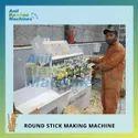 Round Bamboo Stick Making Machine