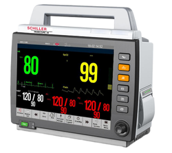 0-50% 20-200bpm Schiller Truscope III MultiPara Patient Monitor, Screen Size: 12.1, For Hospital