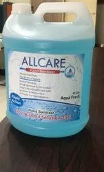 Allcare Alcohol Based Sanitizer 5 Litre