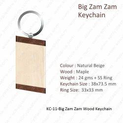 Wooden Kechain-KC-11-Big Zam Zam Keychain
