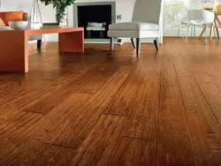 PVC Vinyl Flooring Service, Thickness: 0.65mm To 3.00mm