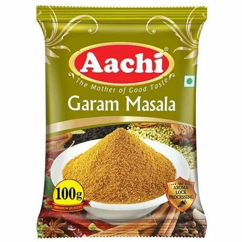 Organic Aachi Garam Masala, Cool, Packet