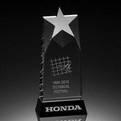 Star Honda Crystal Trophy