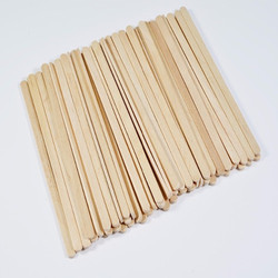 5.5 Inch Disposable Wooden Coffee Stirrer