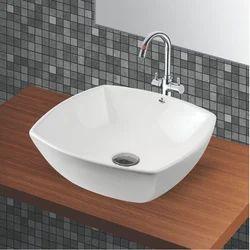 Ceramic White Counter Top Basin