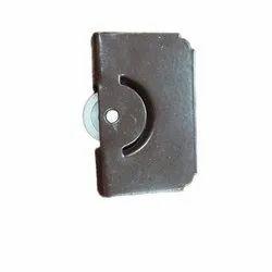 Polished Aluminium Glass Runner, For Glass Door