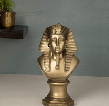 Jaguar Ancient Egyptian King Figurine