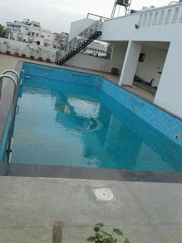 Terrace Pool For Duplex House