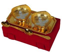 Gold Plated Wedding Gift Set