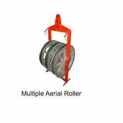 Three Sheave Aerial Roller