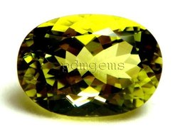 Lemon Quartz Faceted Gemstone