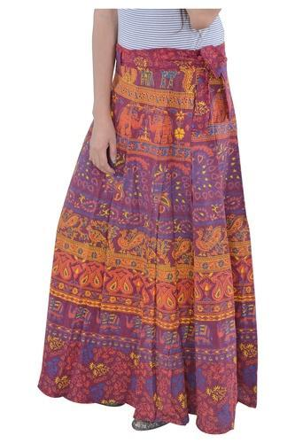 3291355dd1 Indian Multi Camel Elephant Cotton Mandala Rapron Skirts, Rs 220 ...