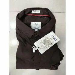 Cotton Full Sleeves Mens Formal Shirt, Size: S,M,L,Xl, Machine wash