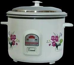 Aluminium Sri Vasavi Ganga Rice Cooker, For Home, Size: 1.8l And 2.8l