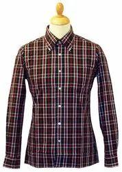 Casual Wear Check Print Shirt For Men