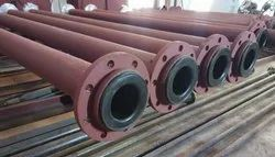 MS HDPE LINED PIPE