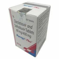 Sofosbuvir 400 Mg and Daclatasvir Tablets, Packaging: Box