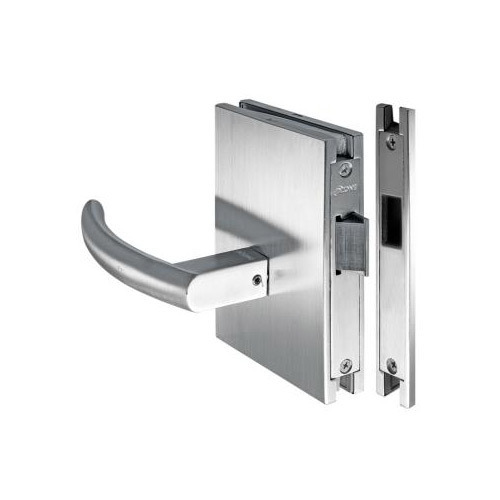Glass Door Lock With Latch Bolt and Strike Plate  sc 1 st  IndiaMART & Glass Door Lock With Latch Bolt And Strike Plate at Rs 1200 /piece ... pezcame.com