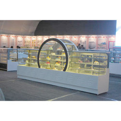 Cake And Pastry Display Counter