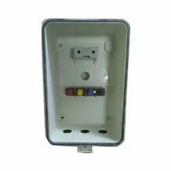 Rectangular 4-Way FRP Street Light Pole Box