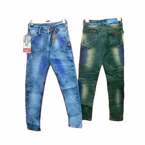604df1f3e872 Boys Kids Designer Jeans, Rs 310 /piece, Chandel Enterprises | ID ...