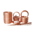 Round Copper Coiled Tubes