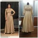 Ethnic Long Gown with Hand Work