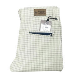 Men's Cotton Check Formal Trouser